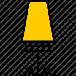 garden, lamp icon