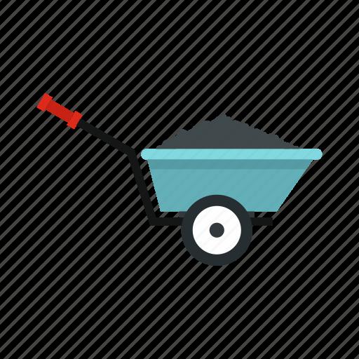 agriculture, barrow, equipment, garden, gardening, tool, wheelbarrow icon