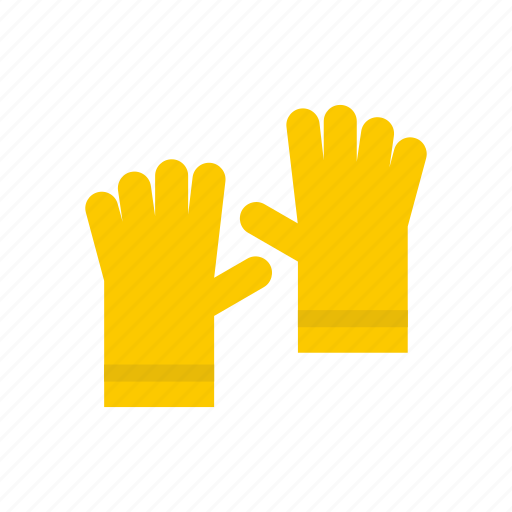 finger, gloves, hand, protection, protective, rubber, safety icon