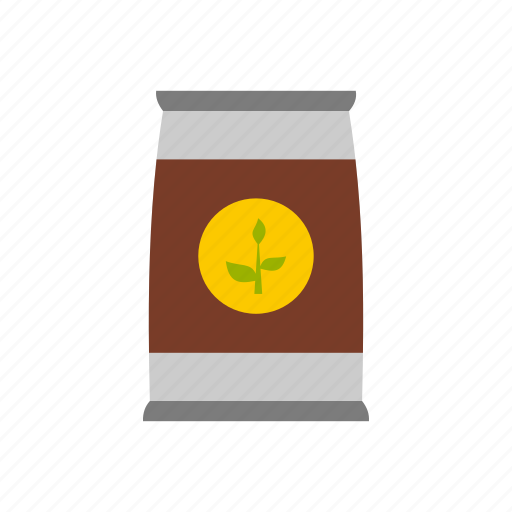 flower, garden, leaf, nature, package, seed, seeds icon