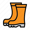 boots, flower, garden, gardening, harvest, nature icon