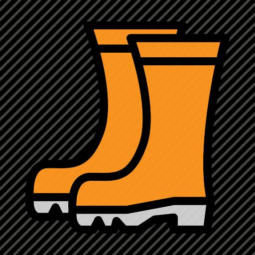 boots, flower, garden, gardening, harvest, nature icon