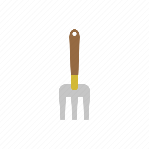 garden, gardening, rake, tool icon