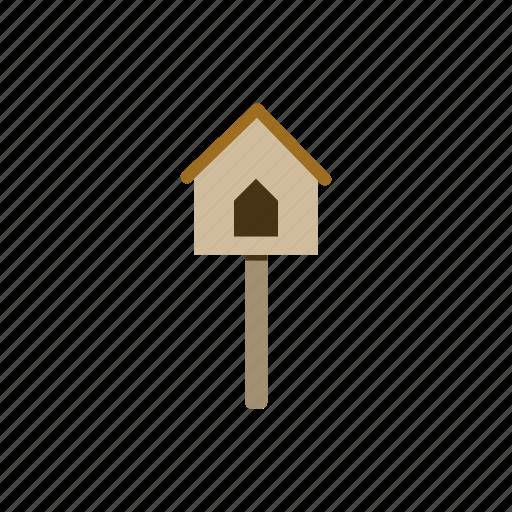 animal, bird, garden, gardening, house icon