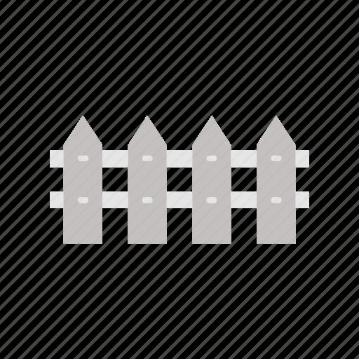 Fence, garden, gardening, nature, wood icon - Download on Iconfinder