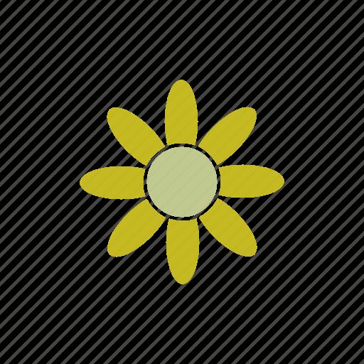 Color, flower, garden, gardening, land, nature icon - Download on Iconfinder