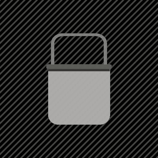 bucket, garden, gardening, nature, tool, work icon