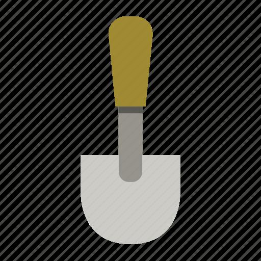 garden, gardening, shovel, tool, wood, work icon