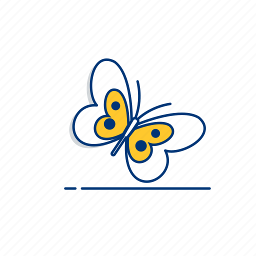 Animal, beauty, butterfly, fly, natural, nature, spring icon - Download on Iconfinder