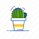 cactus, garden, green, houseplant, nature, plant, succulent icon