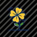 clover, gardening, leaf, natural, outline, plant, spring
