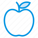 apple, food, fruit, green, juice, mix, sweet icon