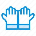 cleanning, glove, gloves, hand, kitchen, medical, safety icon