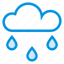 cloud, computing, ecology, nature, rain, snow, winter icon