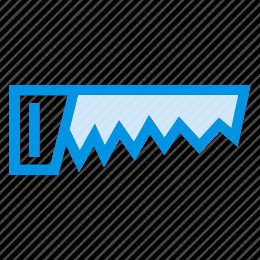 blade, crosscut, cuttingtool, handsaw, saw, sawtool, woodcutter icon
