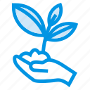 agriculture, experiment, floral, flower, garden, growth, seed icon