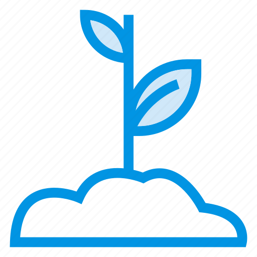 floral, gardening, growth, leaf, nature, plant, sprinkling icon