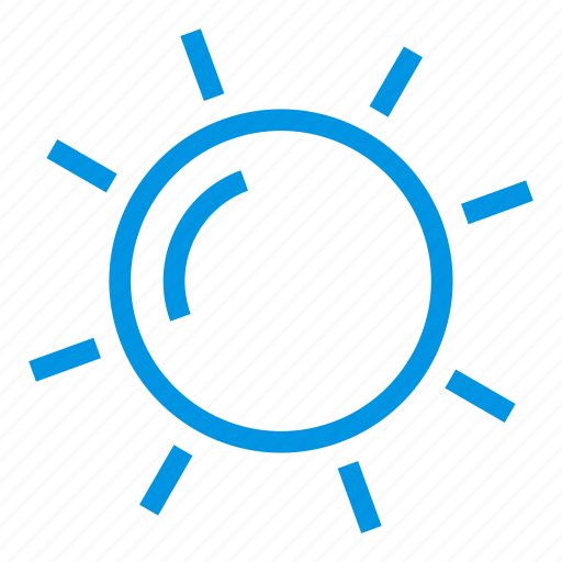 energy, holiday, summer, sun, sunny, vacation, weather icon