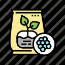 fertilizers, gardening, equipment, glass, polycarbonate, greenhouse icon