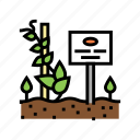 plant, nameplate, gardening, equipment, glass, polycarbonate icon