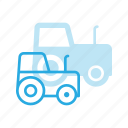 agriculture, farm, farming, tractor, vehicle icon