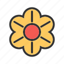 plant, flower, garden, beauty, blossom, spring, decoration icon
