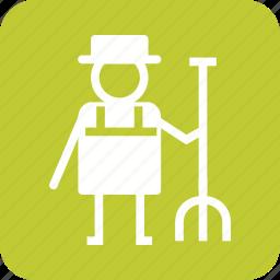 garden, gardening, gardner, grass, lawn, mower, work icon