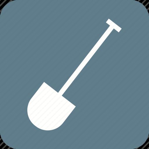 equipment, gardening, hand, shovel, spade, tool, work icon