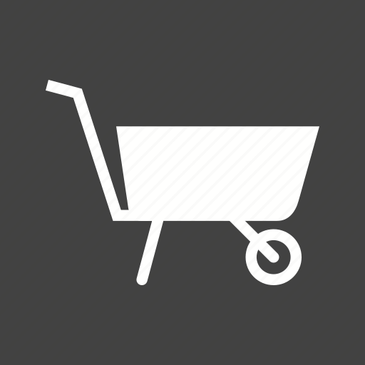 barrow, cart, garden, gardening, plastic, spade, wheelbarrow icon
