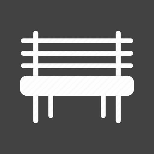 bench, garden, greenery, nature, outdoor, park, spring icon