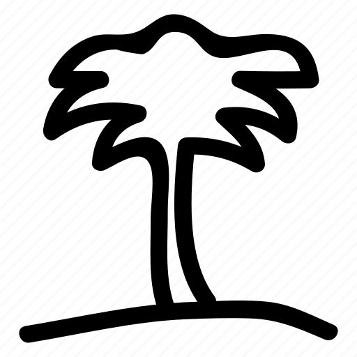 friut, holiday, outdoor, plam, plant, travel, tree icon