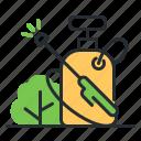 equipment, gardening, spray, sprayer icon