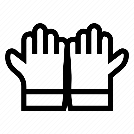 cleanning, glove, gloves, hand, kitchen, medical, safety icon