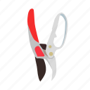 cutter, gardening, secateurs, shears, shed, tools icon