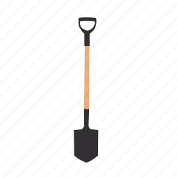 gardening, horticulture, shed, shovel, tools icon