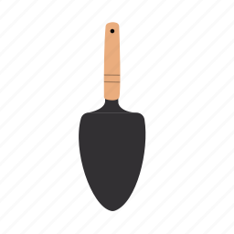 gardening, hand shovel, horticulture, mini shovel, shed, tools icon