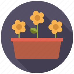 container, equipment, flower, garden, gardening, planter, plants icon