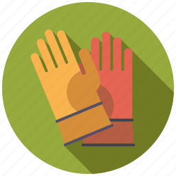 clothing, equipment, garden, gardening, gloves, protection, protective gloves icon