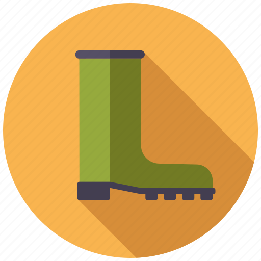 boot, equipment, garden, gardening, rubber boot, shoe icon