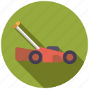 cordless, equipment, garden, gardening, lawnmower, tool icon