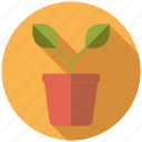 equipment, flower pot, garden, gardening, plant, sprout icon