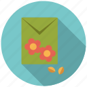 bag, flowers, garden, gardening, seeds icon