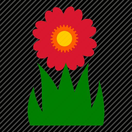 daisy, flower, garden, gardening, leaves, nature, sunflower icon