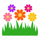 flower, garden, gardening, grass, leaves, nature, plants icon