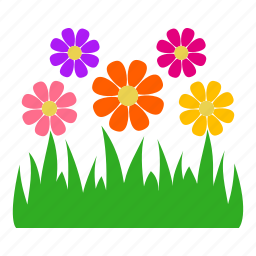 flower, garden, gardening, grass, leaves, nature, plants icon