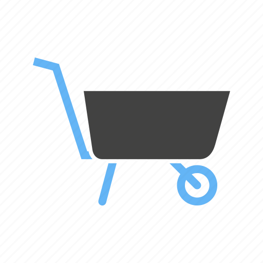 cart, collector, garden, trash, trolley icon