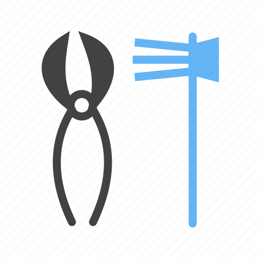 equipments, for, garden, gardners, tools icon