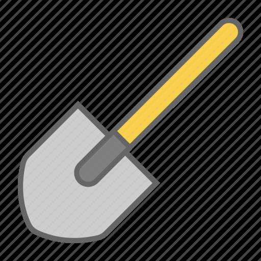dig, earth, garden, scoop, shovel, spade, trowel icon