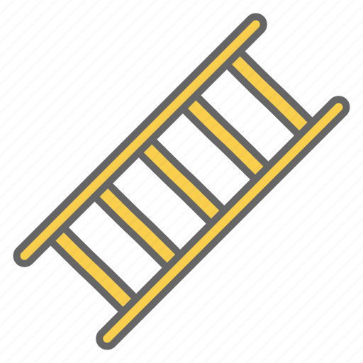 footway, garden, ladder, stair, staircase, stairs, up icon