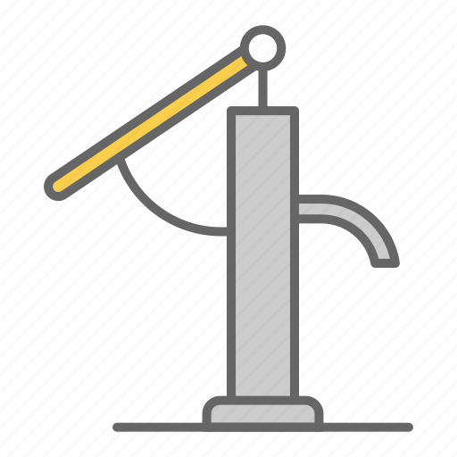 garden, house, pump, pumping, wash, water icon
